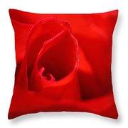 Red Rose Throw Pillow