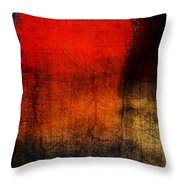 Red Tide Vertical Throw Pillow
