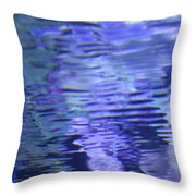 Reef Reflections Throw Pillow