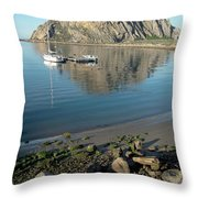 Reflection Anchorage  Throw Pillow