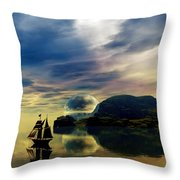 Reflection Bay Throw Pillow