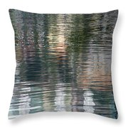 Reflections In Water Throw Pillow