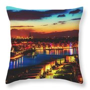 Reflections Of Dortmund Throw Pillow