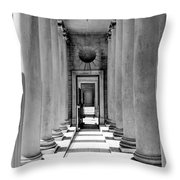 Repetition II Throw Pillow