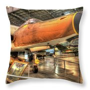 Republic F-105, Thunderchief Throw Pillow