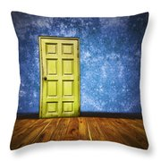 Retro Room Throw Pillow