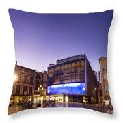 Reus Triptych, Spain Throw Pillow