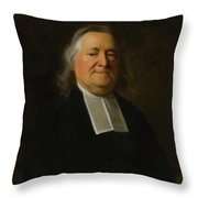Reverend Joseph Sewall Throw Pillow