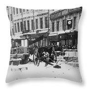 Revolution Of 1917 Throw Pillow