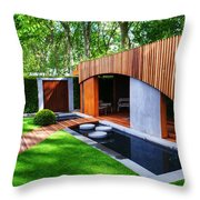 Rhs Chelsea Homebase Urban Retreat Garden Throw Pillow
