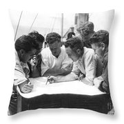 Richard Evelyn Byrd Throw Pillow