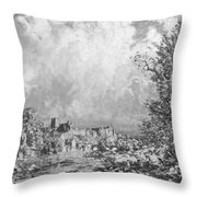 Richmond Castle Yorkshire Throw Pillow