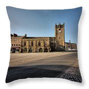 Richmond, North Yorkshire Throw Pillow