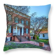 Riddicks Folly House Museum  Throw Pillow