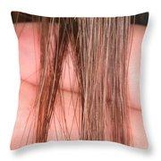 Right Whale Baleen Throw Pillow