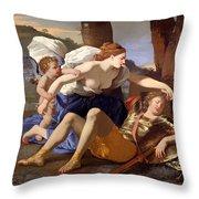 Rinaldo And Armida Throw Pillow