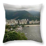 Rio De Janeiro Vi Throw Pillow