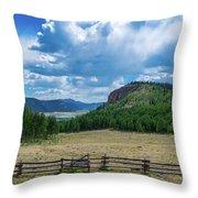 Rio Grande Headwaters #3 Throw Pillow