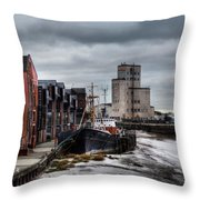River Hull Throw Pillow