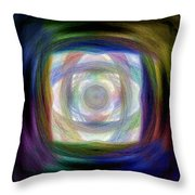 Road To Eternity Throw Pillow