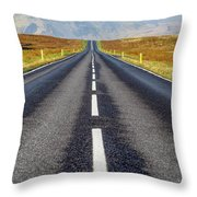 Road To Nowhere. Throw Pillow