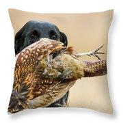 rob Throw Pillow