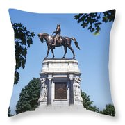 Robert E. Lee Throw Pillow