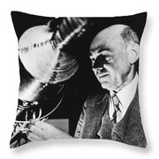 Robert Hutchings Goddard Throw Pillow