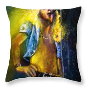 Robert Plant 01 Throw Pillow