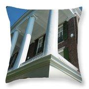 Robert Wm Roper House Throw Pillow
