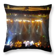 Rock Concert Throw Pillow
