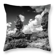 Rock Formations Of Bryce Canyon Throw Pillow