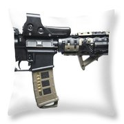Rock River Arms Ar-15 Rifle Equipped Throw Pillow