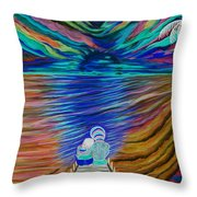 Rockers Island Throw Pillow
