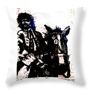 Rogue Of The Road Throw Pillow
