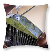 Rolls-royce Throw Pillow
