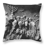 Rome: Arch Of Titus Throw Pillow
