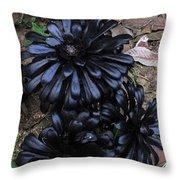 Rose Succulents II Throw Pillow