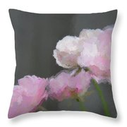 Roses - Bring On Spring Series Throw Pillow