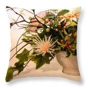 Roses Ll Throw Pillow