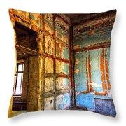 Rough Interior  Throw Pillow