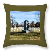 Rough Riders Throw Pillow