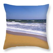 Route A1a, Atlantic Ocean, Flagler Throw Pillow