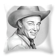 Roy Rogers Throw Pillow