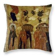 Russia: Icon Throw Pillow