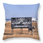 Safaga - Egypt Throw Pillow