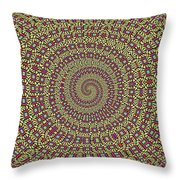 Saguaro Forest Abstract #2 Throw Pillow