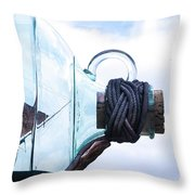 Sailing Within The Bottle Throw Pillow
