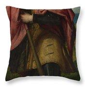 Saint Alexander Throw Pillow