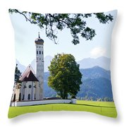 Saint Coloman Church 2 Throw Pillow